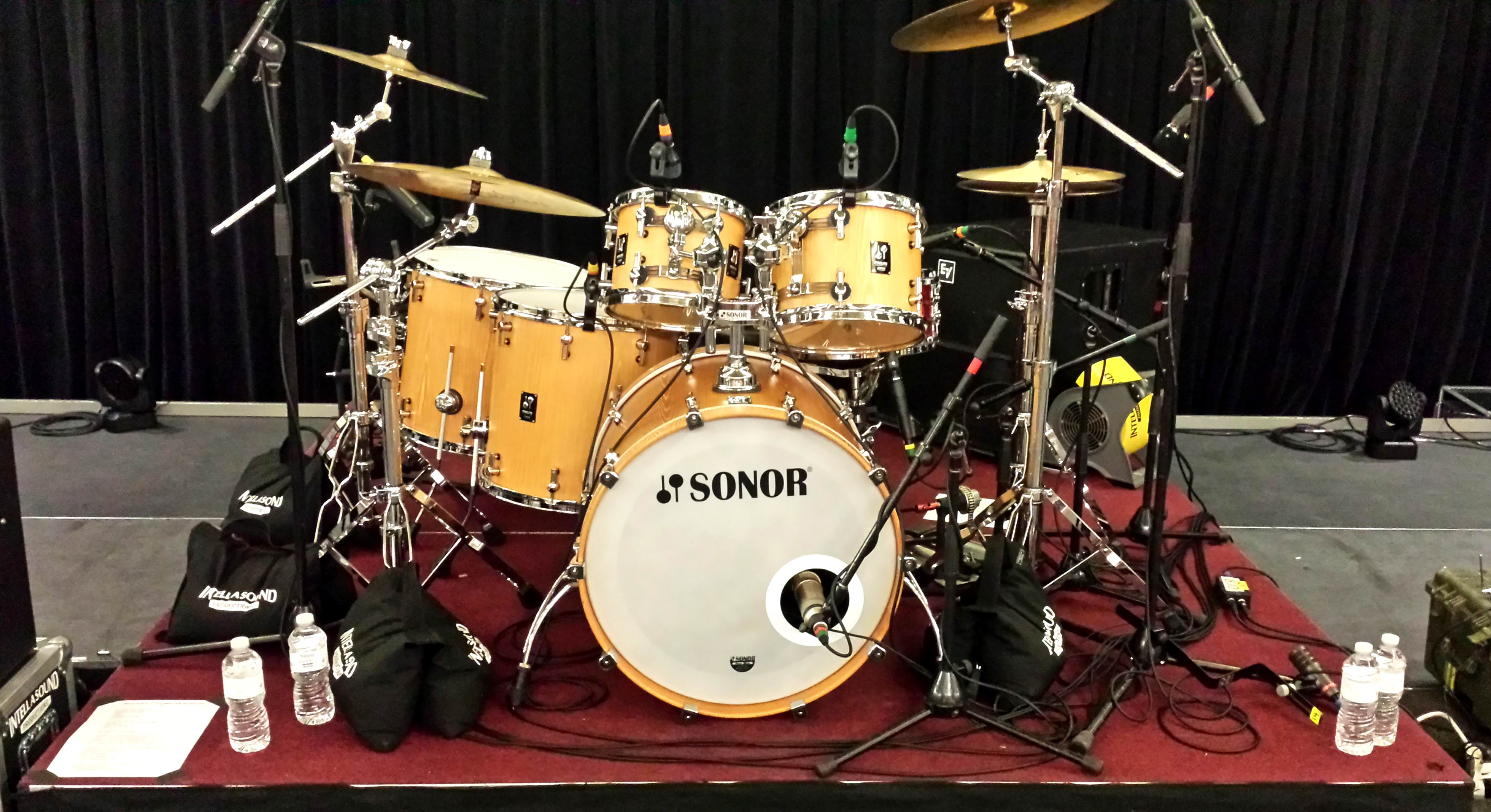 Intellasound / Sonor ProLite Drum Kits
